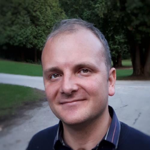 Portrait of Michael Garton