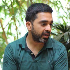 Portrait of Shrey Sindhiwani