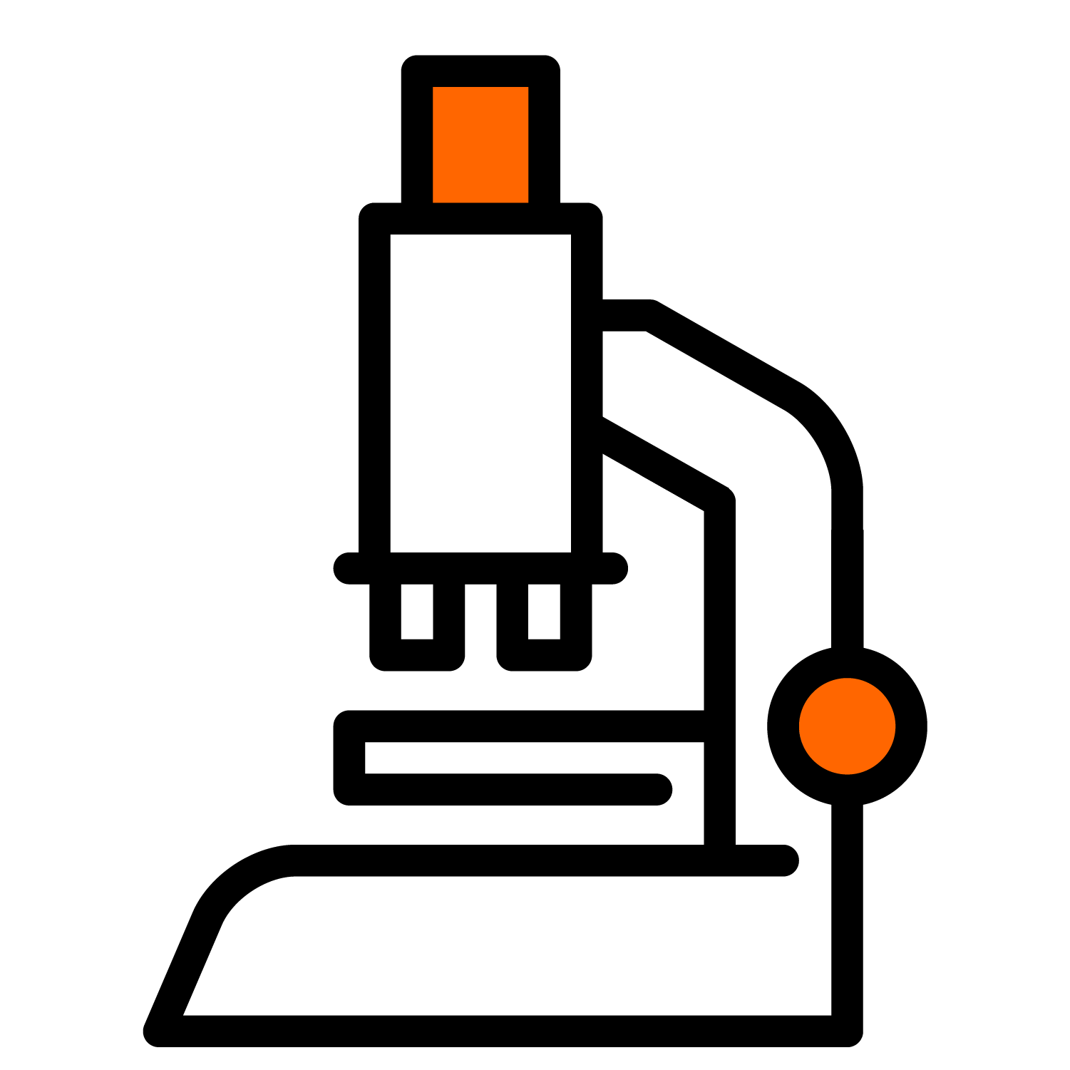icon of microscope