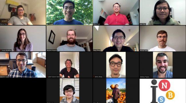 Portrait of multiple researchers in Warren Chan's Lab