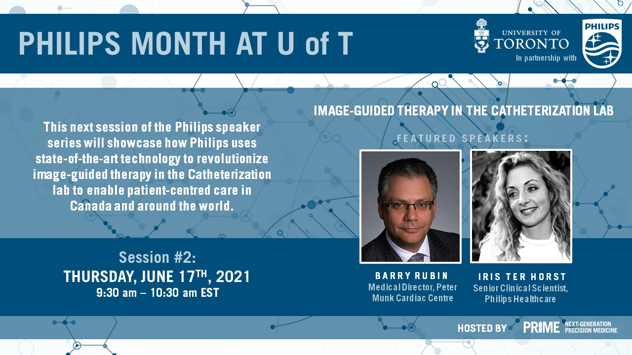 Philips Month at UofT: Session 2 - June 17, 2021 @ Online