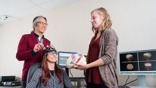 IBBME researchers are investigating neural pathways and sensory communications in order to design technologies and rehabilitation solutions for the elderly, disabled and those affected by chronic disease. (Image Credit: Neil Ta)
