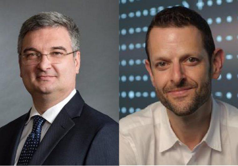Portrait of Milos Popovic and David Sinton