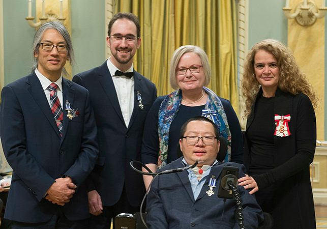 Awardees at the Governor General Meritorious Service event